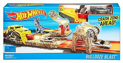 Childrens Hot Wheels Vehicle Launch - Bulldoze Blast