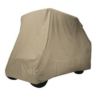 Classic Accessories 40-067-015801-RT Quick-Fit Golf Cart Storage Cover NEW