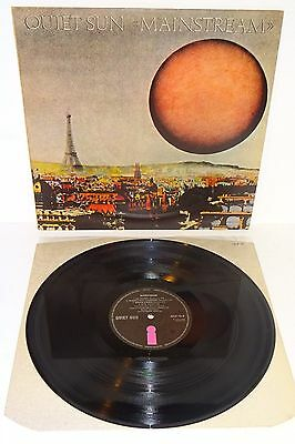QUIET SUN MAINSTREAM 1975 ISLAND UK 1st PRESS LP w/inner also Roxy Music 801