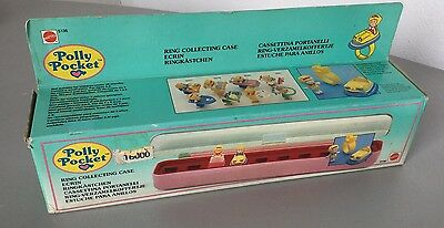 1989  Vintage# POLLY POCKET RING COLLECTING CASE #NIB PLAYSET