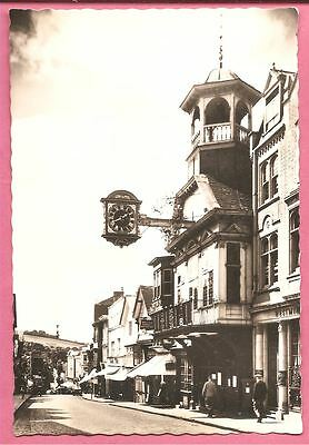 High Street and Clock, Guildford, Surrey postcard. Real Photo. Valentine's.