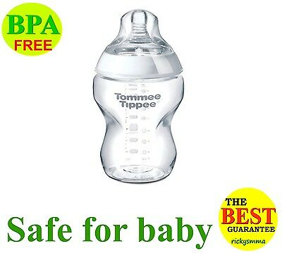 Tommee Tippee Bottles 260ml / 340ml 12oz X 1pc Closer To Nature Free Ship