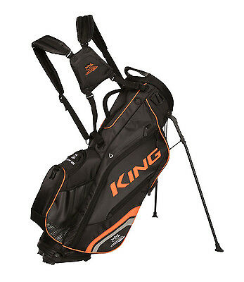 New 2017 Cobra King Stand Bag - Black