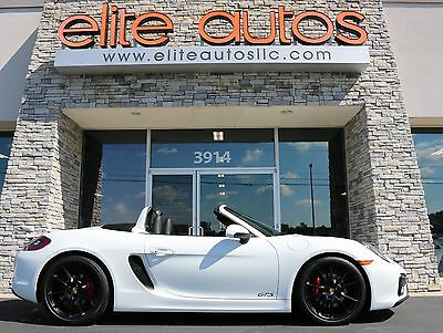 2016 Porsche Boxster  BOXSTER GTS Roadster LEATHER INTERIOR Infotainment Package PDK Low Mile REAR CAM
