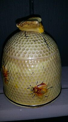 Fairylite Foreign Vintage Honey Pot Bee Hive Shaped Retro Kitsch