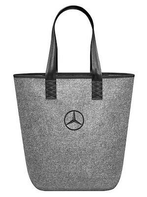 Genuine Mercedes-Benz Shopping bag Grey/Black B66952989 NEW