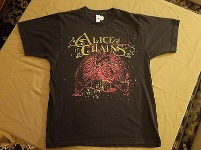 2000's Alice In Chains T Shirt M Heart And Lungs