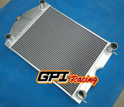 56mm  FOR Ford 2N/8N/9N tractor w/flathead V8 engine Aluminum radiator