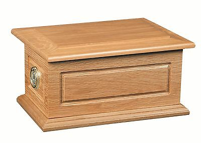 Solid wood Compton ashes casket / Funeral / Adult / Urn