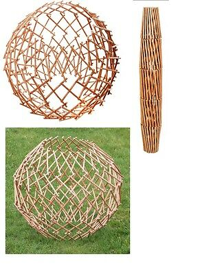 BNWT Expandable Garden Willow Trellis Sphere Expanding Climbing Plant Support