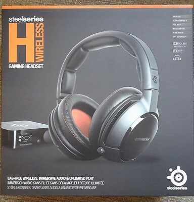 Auriculares gaming - SteelSeries H Wireless 7.1, PS, XBOX, PC