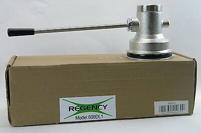 "Regency Hand Lever Handle 2"" Waste Drain Outlet Valve  (600DL1) (V1)"