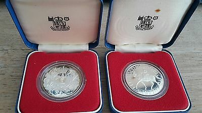 5 Sterling Silver Jubilee Coins - Boxed