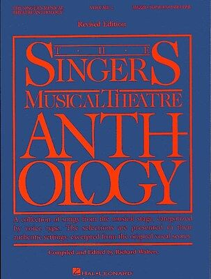The Singers Musical Theatre Anthology: Volume One (Mezzo-Soprano). Sheet Music