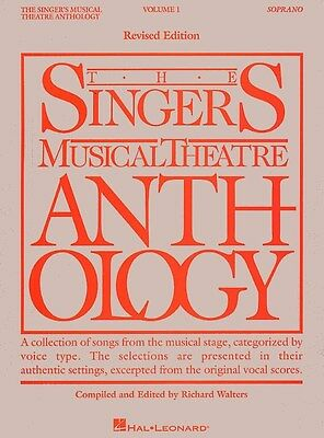 The Singers Musical Theatre Anthology: Volume One (Soprano). Sheet Music