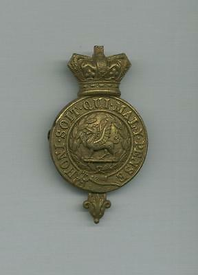 A Victorian Cap Badge for the Monmouths 96th Glengarry- Ideal for Re-enachtments