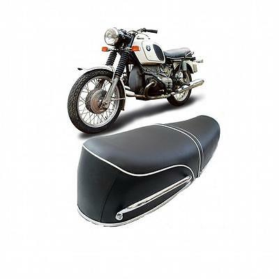 Bmw Motorcycle Complete Plain Seat R50/5 R60/5 R75/5 Swb 1969 - 1972 Brand New