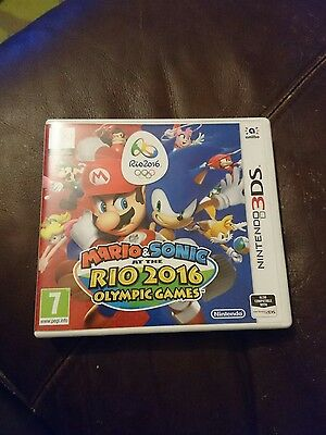 Nintendo 3DS Mario & Sonic at the Rio Olympic Games box only