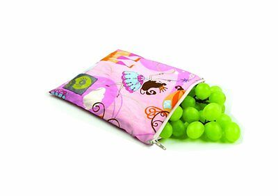Itzy Ritzy Snack Happened Reusable Snack Bag - Perfect Princess