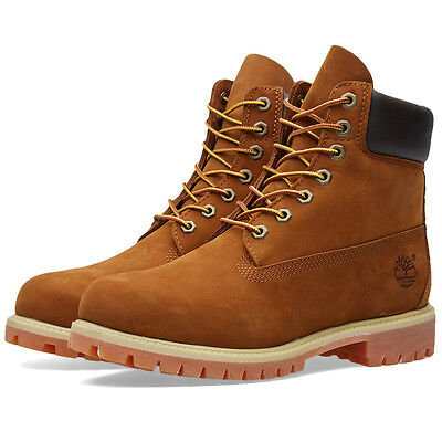 Timberland Men's Boots 6Inch Color Rust Nubuck Style Tb072066