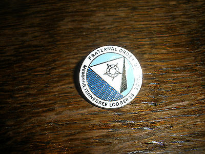 Fraternal Order Police Memphis Tennessee Hat Lapel Pin