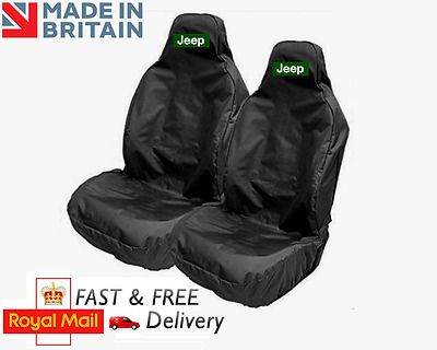 Jeep Car Seat Covers Protectors Sports Bucket Heavyweight - Patriot