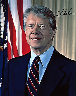 Jimmy Carter - President of the USA - Signed Autograph REPRINT
