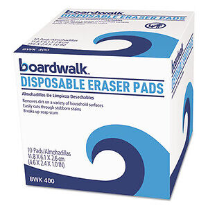 Boardwalk Disposable Eraser Pads - BWK400CT