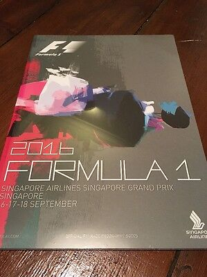 ***singapore Airlines Singapore F1 Grand Prix Official Programme***