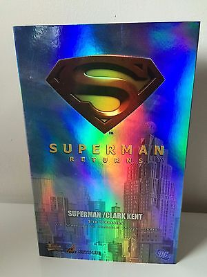 Hot Toys Superman Returns 2 in 1  NEW