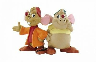 Bullyland Gus And Jaq Mice From Disney's Cinderella