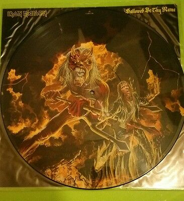 "Iron Maiden - Hallowed Be Thy Name  12"" Picture Disc  Vinyl"