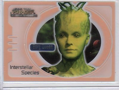 Star Trek Voyager Closer To Home CTH IS8 Orange card from Skybox MINT