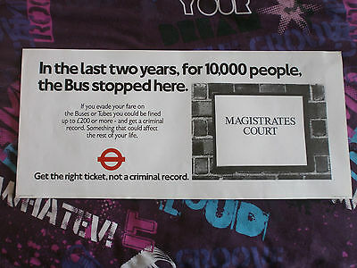 London Transport Routemaster Interior Poster-The Bus Stopped Here