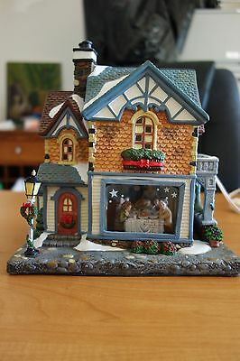 Norman Rockwell Porcelain Christmas Village Collection NEW-Freedom from Want