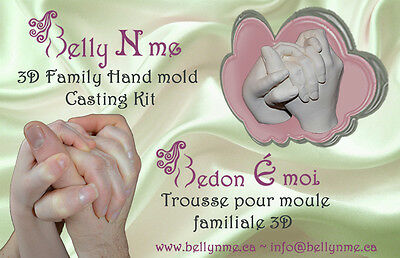 3D Family Hand mold casting kit