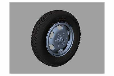 Steyr 1500 Road Wheels (Commercial Pattern), RE35-406, PANZER ART, 1:35