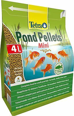 Tetra Pond Fish Pellet Mini 4L / 1050g - Posted Today if Paid Before 1pm