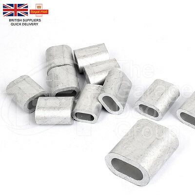 Steel Wire Rope Ferrules Crimping Sleeve Also For Marine Stainless Steel Wire