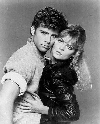 Michelle Pfeiffer and Maxwell Caulfield UNSIGNED photograph - H4874 - Grease 2