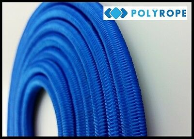 6mm Elastic Shock Cord Bungee Rope BLUE