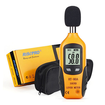 Sound Level Meter, RISEPRO® Digital Decibel Meter Audio Noise Measure Devic