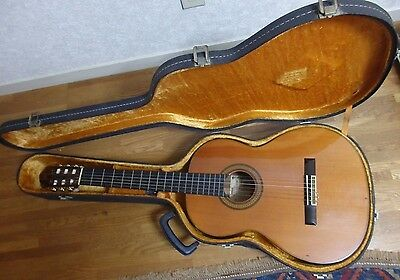 1978 Vintage Yamaha Grand Concert Classical Acoustic Guitar GC-7 (S) rare 5 10