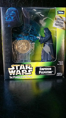 STAR WARS POTF Emperor Palpatine Gold Coin special limited edition