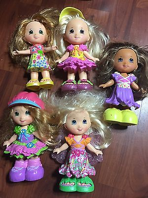5 Fisher Price Snap N Style Dolls Lot Of Various Clothes Shoes Accessories Play