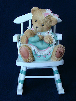 Cherished Teddies - Lori And Samantha -Mother and Baby on Rocking Chair- 101678