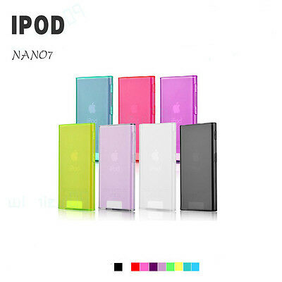 Ultra Thin Clear Soft TPU Silicone Case Cover for iPod Nano 7 7th Generation