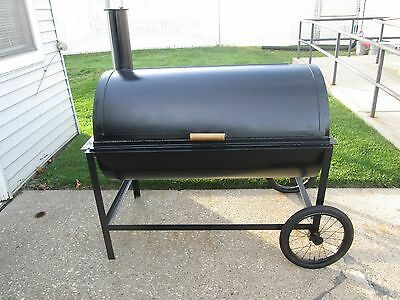 Heavy Duty Bbq Grill / Smoker Custom Made Grill....real Deal ..nice!!!
