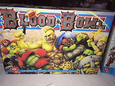 Blood Bowl 2nd Edition Board Game - Complete w/ AstroGranite Field