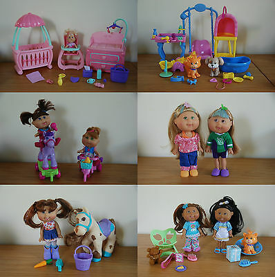 Cabbage Patch Lil' Sprout nursery pets pony Magic Glow - baby toddler girl dolls